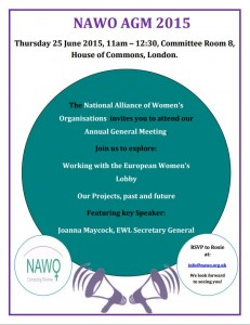 NAWO AGM Flyer, 25th June
