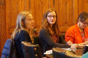 Carolina and Gemma SDGs panel 30/11