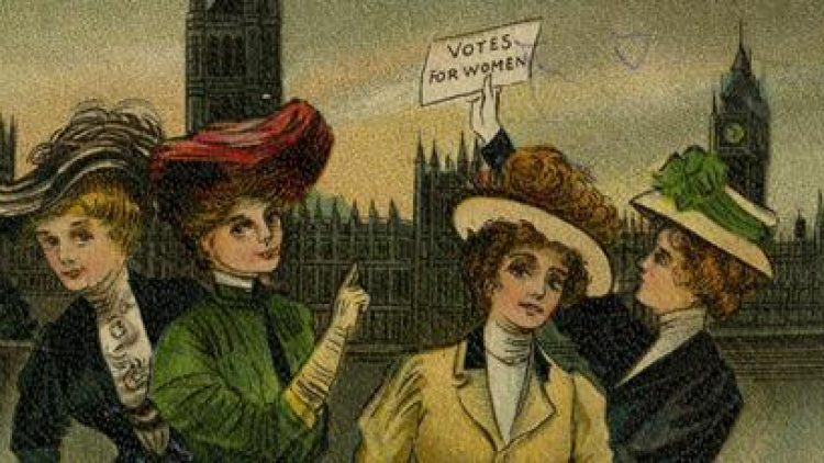 Women and the Vote. A campaign for representation.
